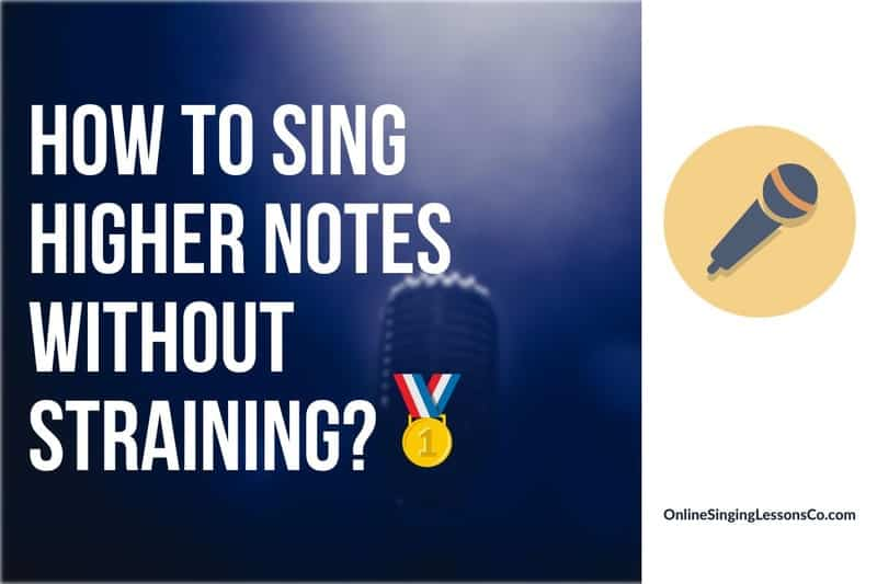 How to Sing Higher Notes Without Straining?🥇