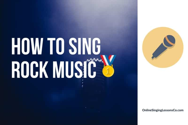 How to Sing Rock Music🥇 (2020)